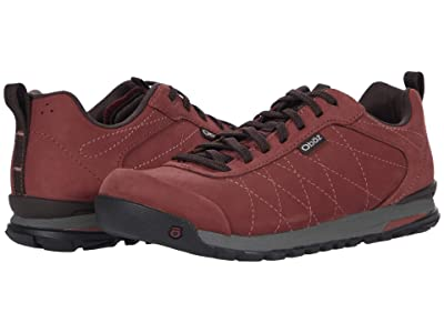 Oboz Bozeman Low Leather (Red Currant) Women