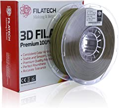 Filatech 3D Printing PLA Filament 1.75 mm +/- 0.05 mm 1.0 Kg Spool 100% Virgin Material Made in UAE (Bronze Gold)