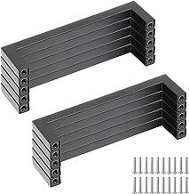 Yorbay 10 x geborsteld roestvrij staal T Bar handgrepen keuken kast 96mm gat centra 10mm diameter kast meubels deurknop tr...