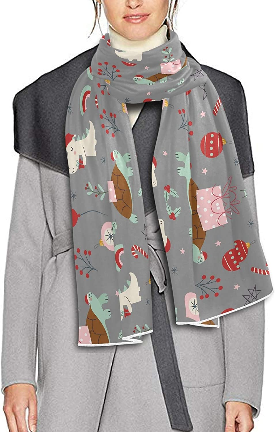 Scarf for Women and Men Christmas (2) Blanket Shawl Scarves Wraps Thick Soft Winter Large Scarves Lightweight