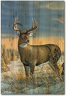 WGI Gallery WA-WTD-1624 Whitetail Deer In Winter Wall Art