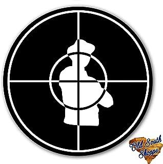 Public Enemy Inverted Black And White DJ Slipmat 12 inch LP Scratch Pad Slip Mat Audiophile Vinyl Lovers
