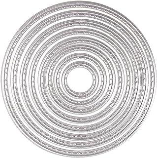 Craft Emotions Stanzschablone Nesting Die Kreise Scalop XL offen 150x160 3,6-13,0 cm