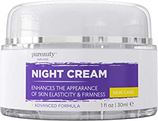 Night Cream for Face and Neck, Anti Aging Cream and Night Moisturizer for Women and Men, Help Reduce The Appearance of Wri...