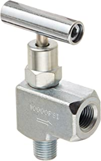 Swagelok SS-6HNBF4 Severe Service Union Bonnet Needle Valve Inlet//Outlet : 1//4 Female : NPT Maximum Pressure : 10,000 psi Material : 316 Stainless