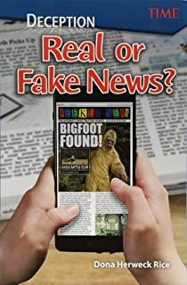 Deception: Real or Fake News? (Time for Kids Nonfiction Readers) (Exploring Reading)