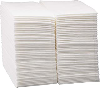 Disposable Dinner Napkins Linen Feel Paper ~ Cloth-Like Guest Hand Towels ~ White Napkin ~ Pack Of 200 ~ Super Soft and Highly Absorbent Cloth-Like Tissue ~ For Bathroom, Kitchen, Parties, Shops