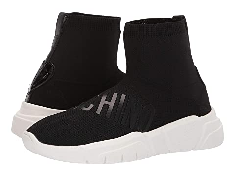 LOVE Moschino High Top Sock Sneaker with Logo