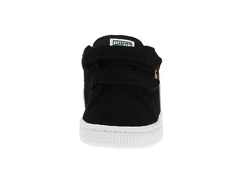 Puma Semsket Klassiske To-stroppen Sneaker (småbarn / Liten Gutt / Stor Gutt) v0N9z2pe