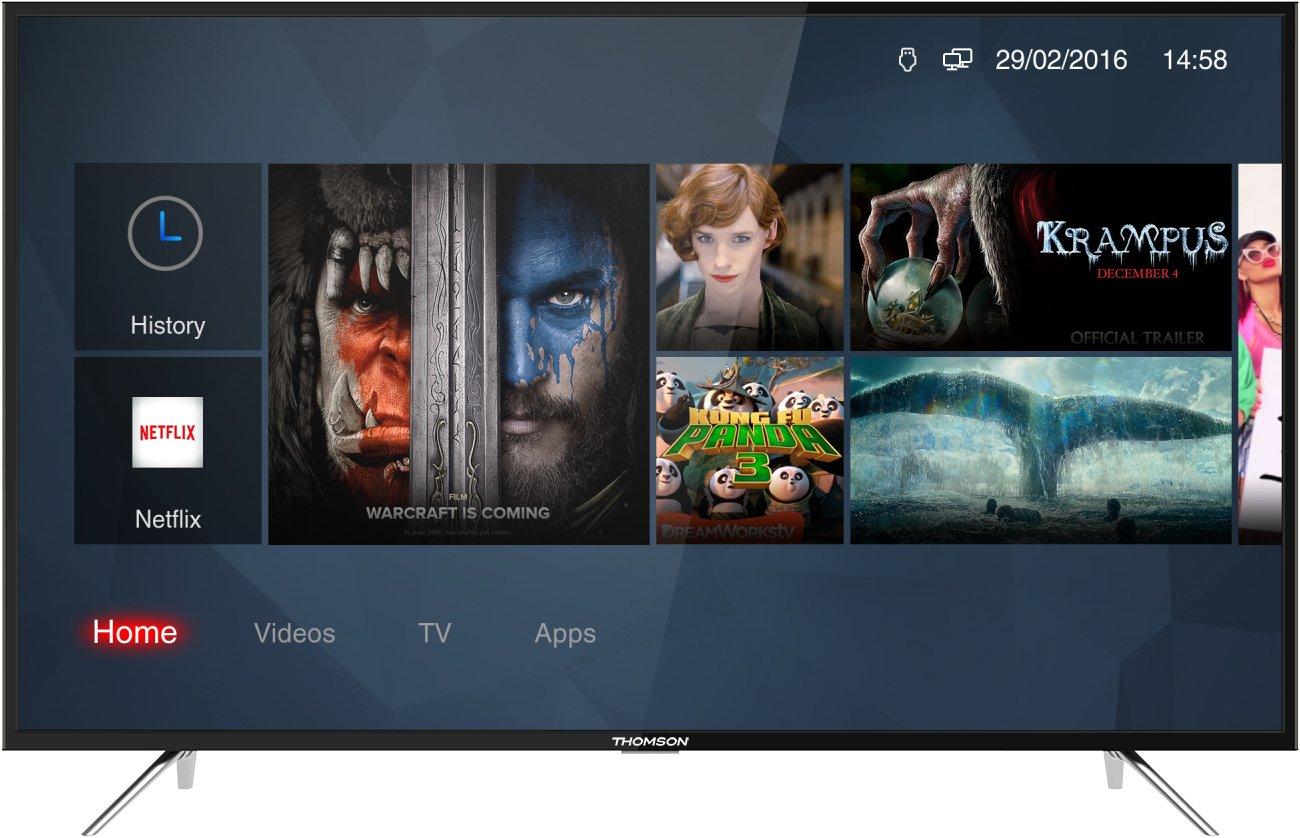 Thomson 43 UC6306-108 cm (43 Zoll) TV (4K Ultra HD, HDR 10, Smart ...