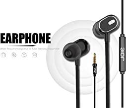 Nwark/Joie® Present 3.5MM Earphones [Upgraded Pro Version] Wired in-Ear Earbuds w/Mic, Noise Cancelling Sports Earphones Compatible with All 3.5 mm Jack Mobile Phone
