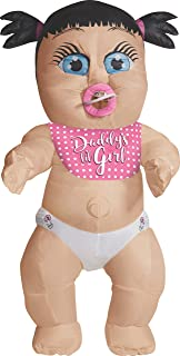 Costume Co - Daddy's Girl Baby Inflatable Adult Costume