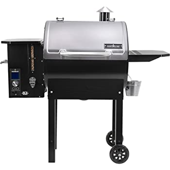 Camp Chef SmokePro Stainless DLX Pellet Grill w/New PID Gen 2 Digital Controller