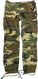 Womens Ladies Army Paratrooper Comfort Cargo Pants Loose...