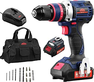 Compact 20V Brushless Impact Drill,Hammer Drill...