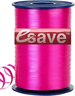 """Curling Ribbon ~ Many Colors to Choose 3/16"""" x 500 Yards Roll by ESAVE (Hot Pink)"""