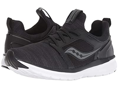 Saucony Stretch Go Ease (Black/Charcoal) Women