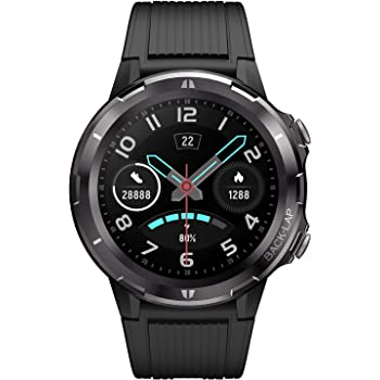 """LETSCOM Smart Watch, Fitness Tracker with Heart Rate Monitor, IP68 Waterproof Smartwatch 1.3"""" Touch Screen, Activity Tracker Step Counter Sleep Monitor Message Call Pedometer for Women and Men"""