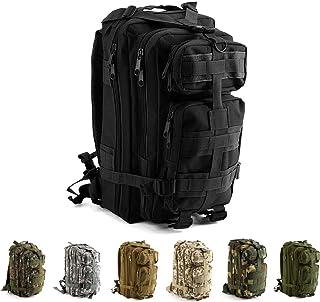 DADZSD 45L Mochila Militar para Hombre//Mujer Tactical Crossfit Gym Bag Fitness Impermeable Molle Bug out Bag Mochila de Trekking de Senderismo al Aire Libre-CP Negro/_Espa/ña