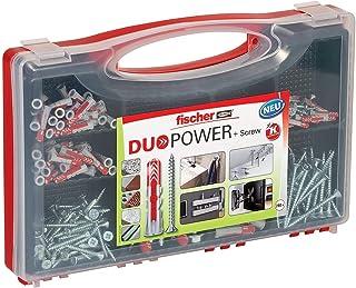 Fischer Redbox Duopower 140 pluggen met schroef voor volle muur, gatensteen, gipsplaat en gasbeton, 536091