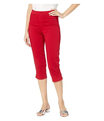 FDJ French Dressing Jeans D-Lux Denim Pull-On Capris in Red (Red) Women
