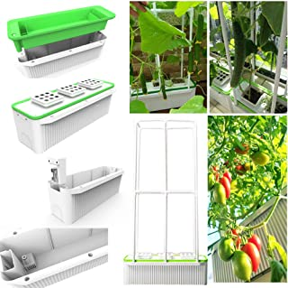 """Big Smart Hydroponics Growing System self Watering Gardening System with Built-in Pump and Smart Reminder 60"""" Climbing Tre..."""
