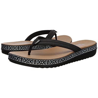 BOBS from SKECHERS Sunkiss Picnic Party (Black) Women