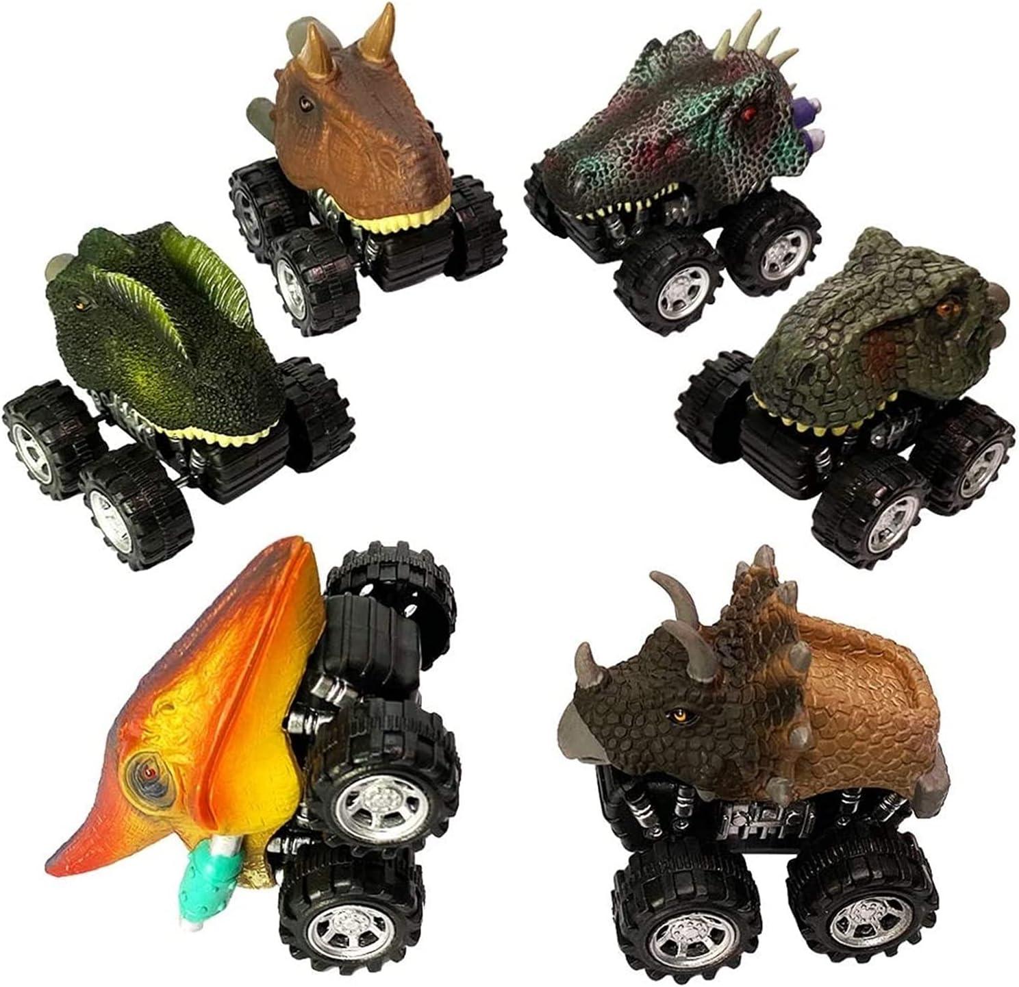 TXXM Educational Toy Super-cheap excellence Car Simulation Pull Back Dinosaur Chari