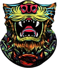 Obacle Face Mask for Sun UV Dust Wind Protection Seamless Bandana Animal Face Mask for Men Women Festival Fishing Hunting Motorcycle Riding Work Outdoor Running Tube Mask Neck Gaiter Headwear