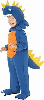 Talking Plush Dinosaur Costume for Kids | Toddler Dinosaur Costume (Blue, Small)