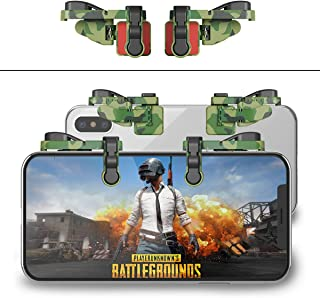 【1 Pair】 Mobile Game Controller Gamepad Compatible with PUBG Mobile/Fortnitee Mobile/Call of Duty Mobile, Compatible with iPhone/Android, IFYOO Z108 Sensitive Shoot and Aim L1R1 Triggers