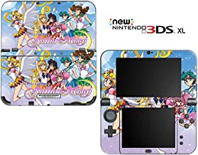 Sailor Moon Pretty Guardian Decorative Video Game Decal Cover Skin Protector for New Nintendo 3DS XL (2015 Edition)