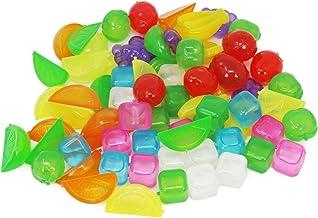 com-four® 72x Cubitos de hielo reutilizables en varios dise
