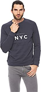 Hugo Boss Sweatshirt For Men - Navy, XL