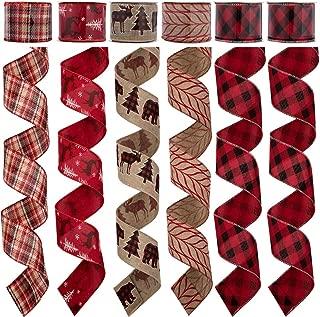 narrow christmas ribbon