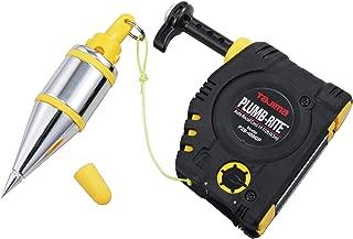 TAJIMA Plumb Bob Setter - 14 oz (400g) Magnetic Plumb-Rite with 14.5 ft Auto Recoil Cord & Quick-Stabilizing Bob - PZB-400GP