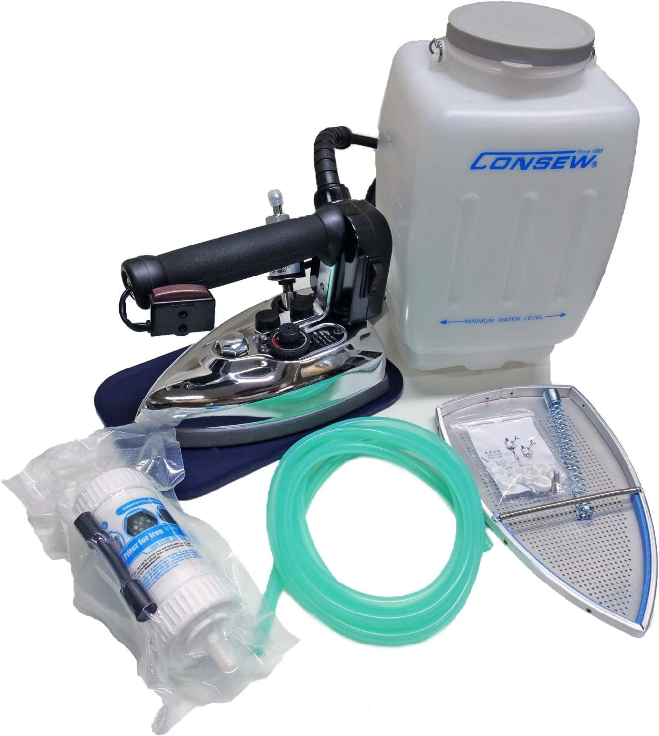 Consew CES-85AF Safety and trust Gravity Feed Be super welcome Commercial Steam Comp Electric Iron