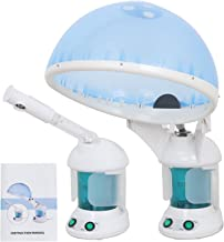 SUPER DEAL PRO 3 in 1 Multifunction Ozone Hair and Facial Steamer with Bonnet Hood Attachment, Hair Therapy & Facial Steamer (3 in 1)