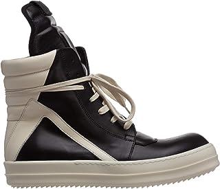 Rick Owens Sneakers Alte Uomo Nero