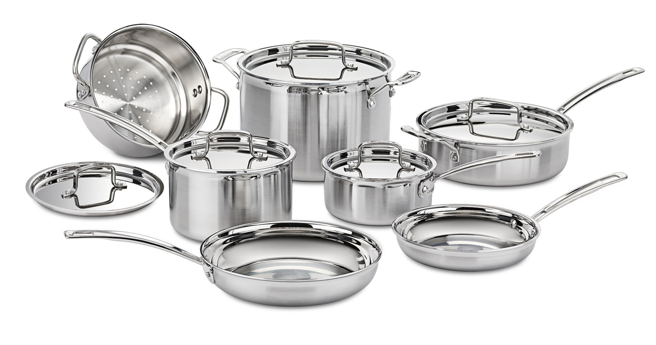 Cuisinart MCP 12N Multiclad Stainless 12 Piece