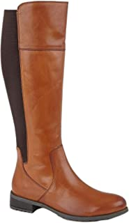 Cipriata Womens/Ladies Silvia Leather Zip High Leg Boot