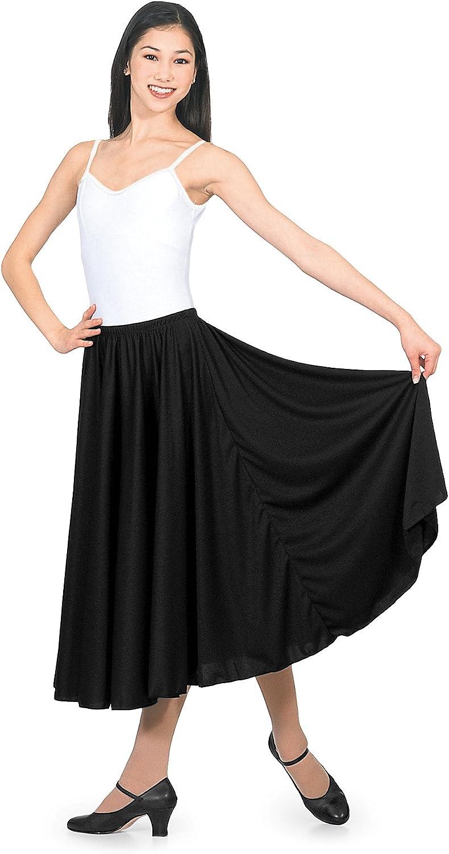 Natalie Dancewear Adult Elastic Waist Character Skirt in Multiple Lengths,N8108