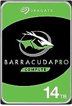 Seagate BarraCuda Pro 14TB Internal Hard Drive Performance HDD – 3.5 Inch SATA 6 Gb/s 7200 RPM 256MB Cache for Computer De...