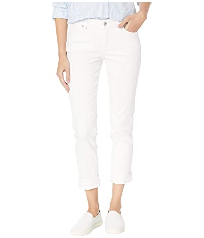 Jag Jeans Carter Girlfriend Jeans in Elite Colored Denim (White) Women