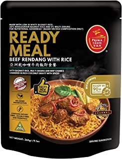 PRIMA TASTE Beef Rendang with Rice, 1 x 260g