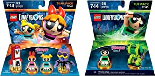 LEGO Dimensions - Powerpuff Girls Team Pack Bundle with Powerpuff Girls Fun Pack