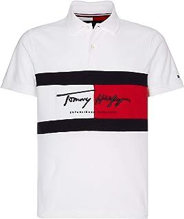 Tommy Hilfiger Autograph Flag Slim Polo Shirt