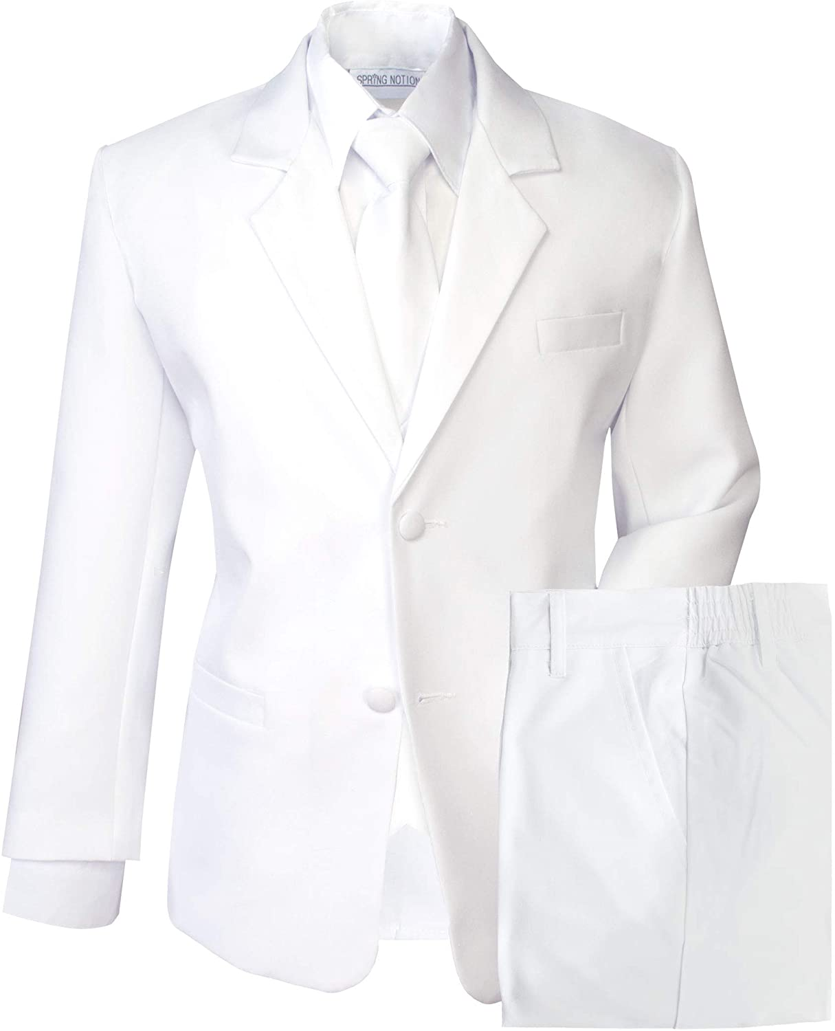 Spring Notion trend rank Boys' Formal Dress White Set Max 47% OFF Suit