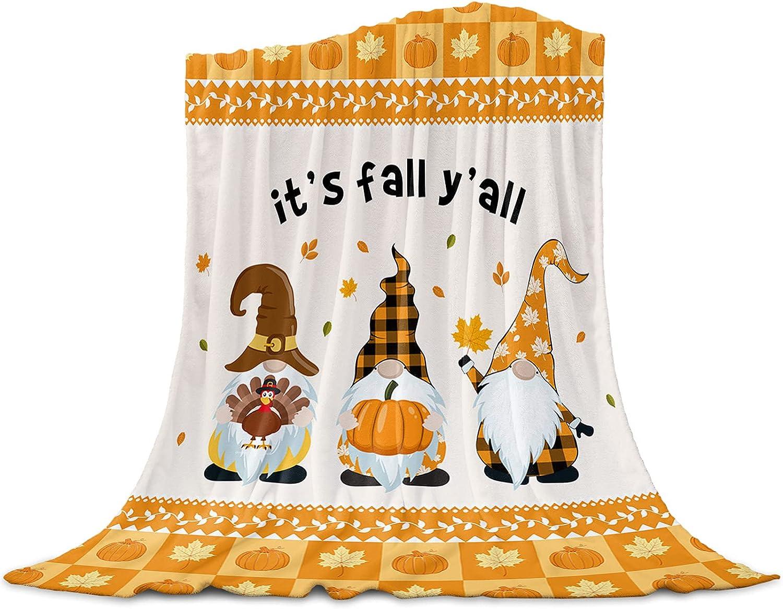 Lightweight Flannel Weekly update Gorgeous Fleece Bed Blankets Thanksgi Throw Soft Warm