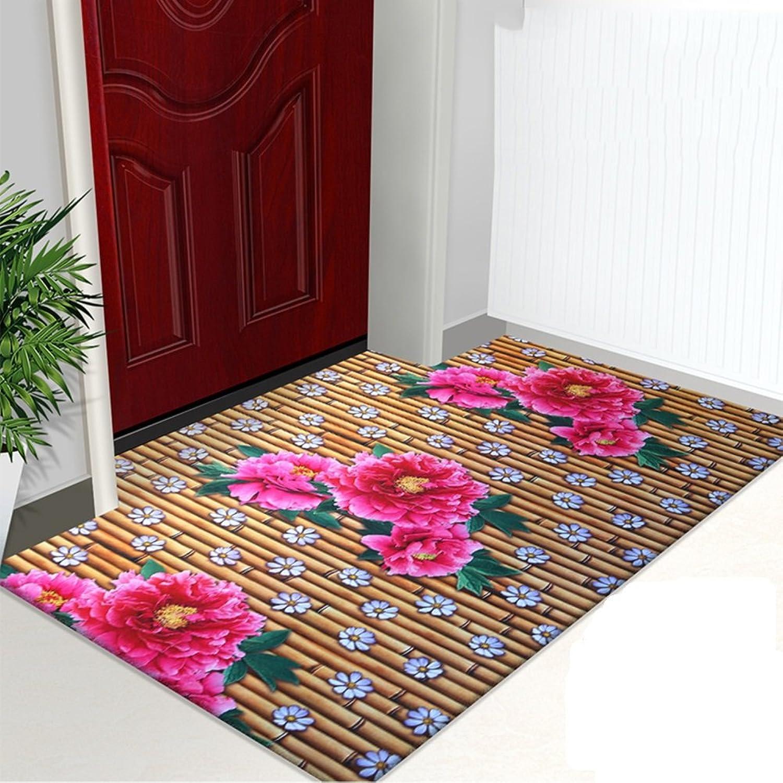 3D color printing door mat Doormat Door mats Doormat Indoor mats Bedroom full of household rectangular mat-D 80x120cm(31x47inch)